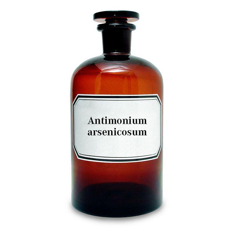 Mischung von Antimon (V)-oxid und Arsen (lll)-oxid [Broncho-Injektopas]