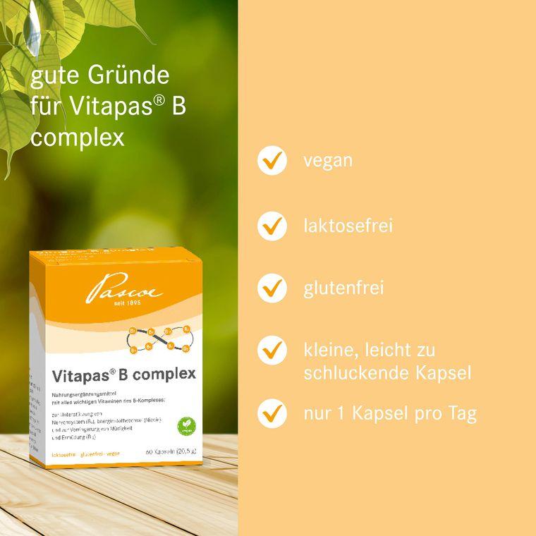 Vitapas B Produktinformationen
