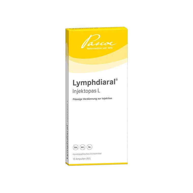 Lymphdiaral-Injektopas L 10 x 2 ml Packshot PZN 00788407
