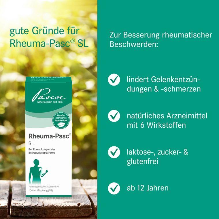 [Translate to Englisch:] Gute Gründe für Rheuma-Pasc SL