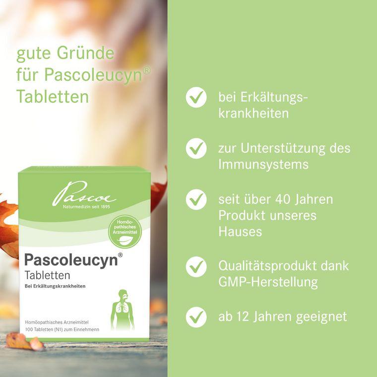 Gute Gründe für Pascoleucyn Tabletten