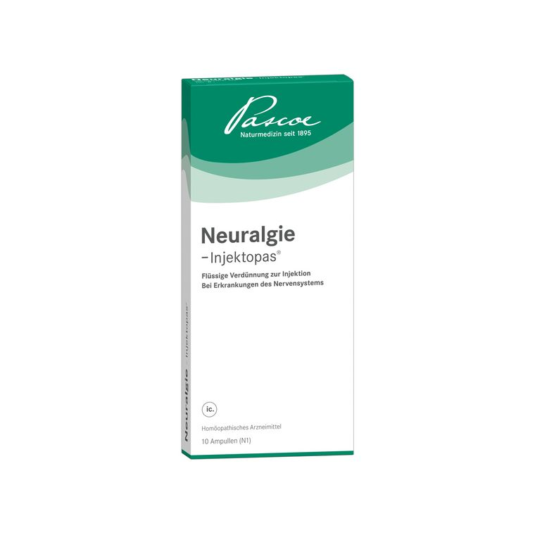 Neuralgie-Injektopas 10 x 2 ml Packshot PZN 11127867