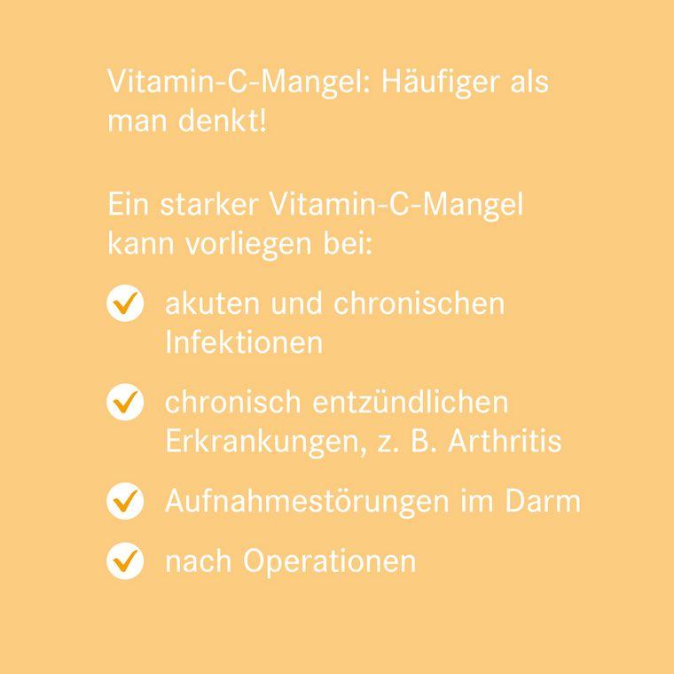 Vitamin-C-Mangel