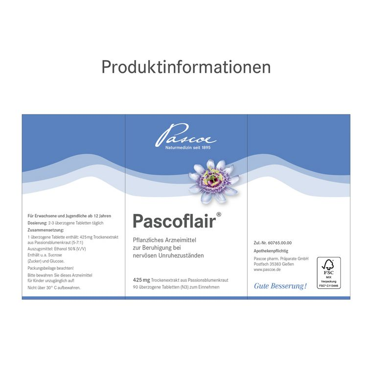 Pascoflair Produktinformationen