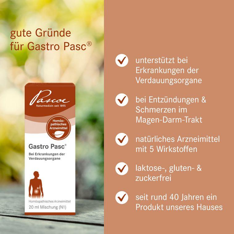 [Translate to Englisch:] Gute Gründe für Gastro-Pasc