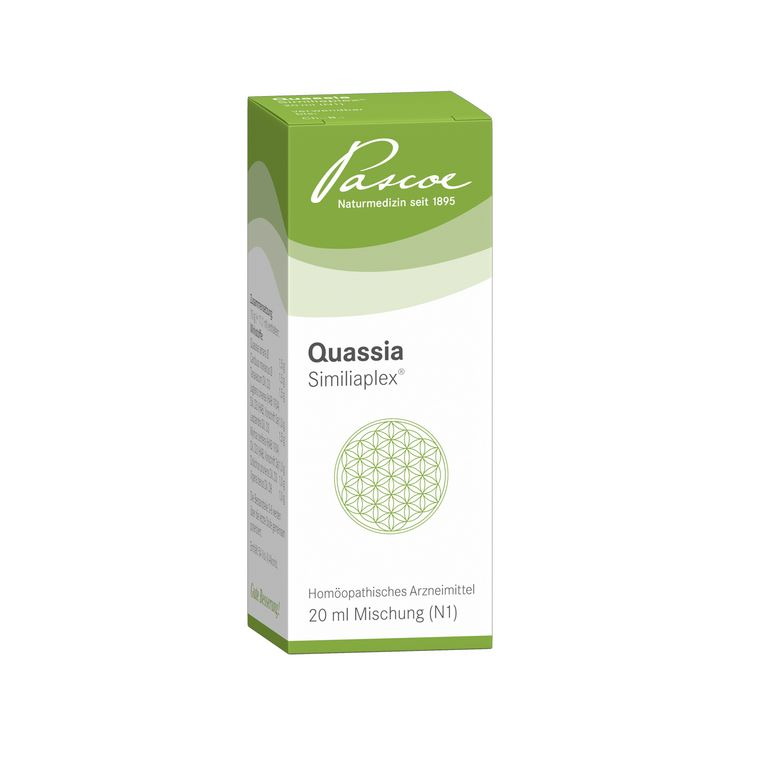 Quassia Similiaplex R 20 ml Packshot PZN 04193616