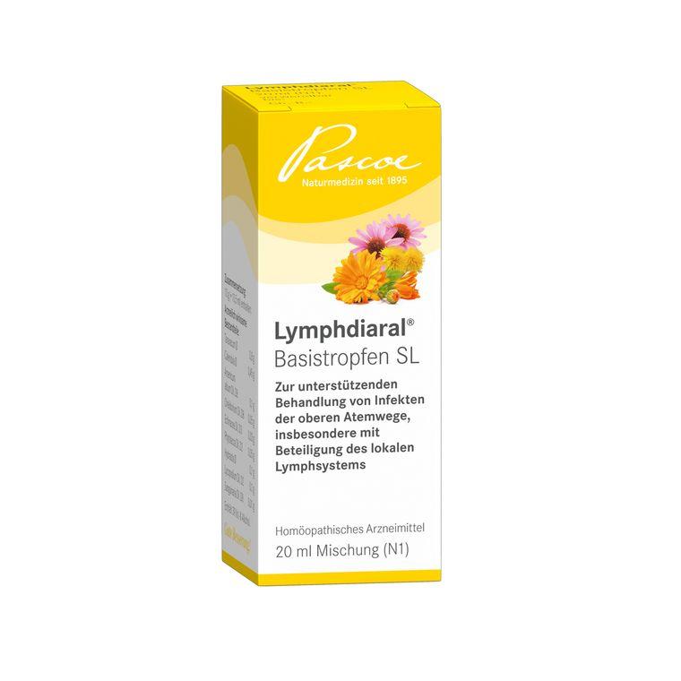 Lymphdiaral 20 ml Basistropfen Packshot PZN 03897924