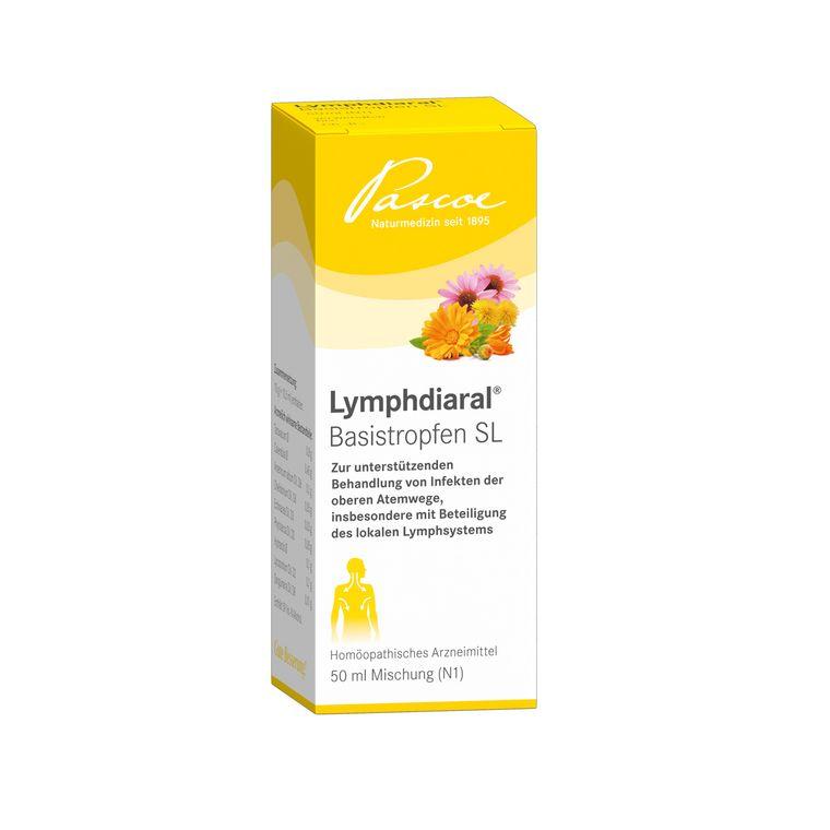 Lymphdiaral 50 ml Basistropfen Packshot PZN 03897999