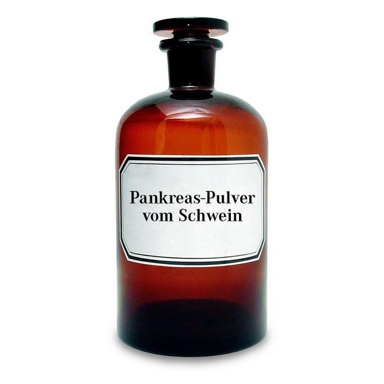 Pankreas-Pulver vom Schwein