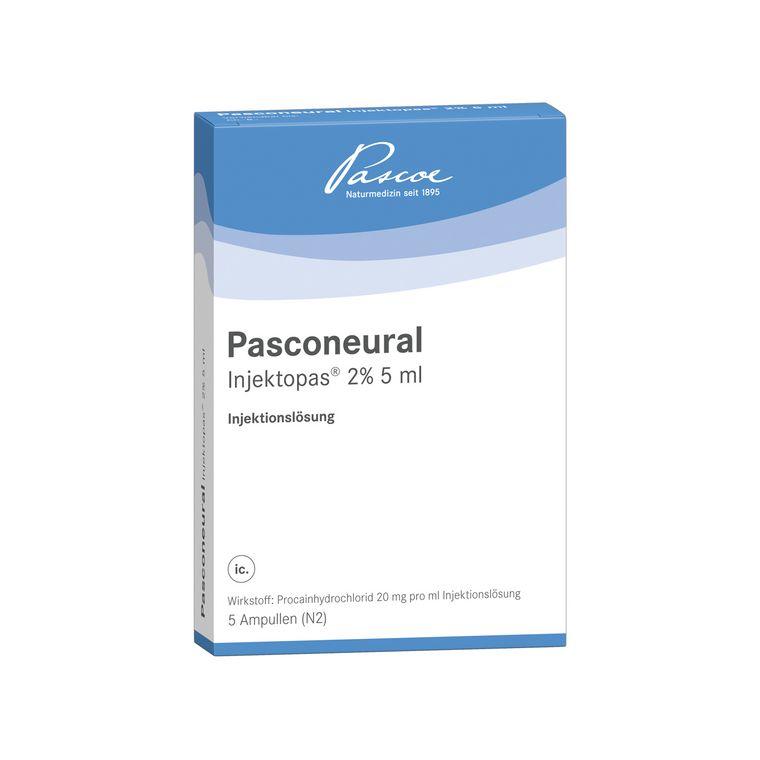 Pasconeural Injektopas 5 x 5 ml Packshot PZN 11170024