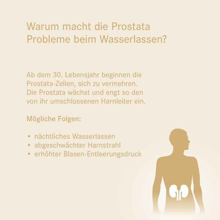 [Translate to Englisch:] Warum macht die Prostata Probleme beim Wasserlassen?