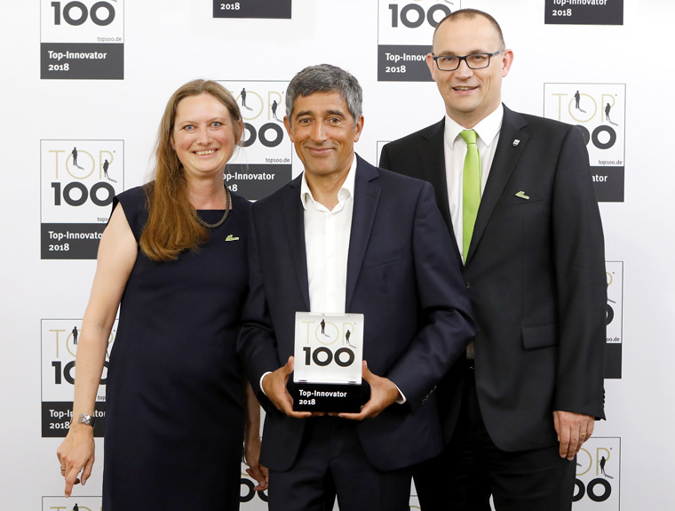 Pascoe erhält Innovationspreis 2018 von TOP 100