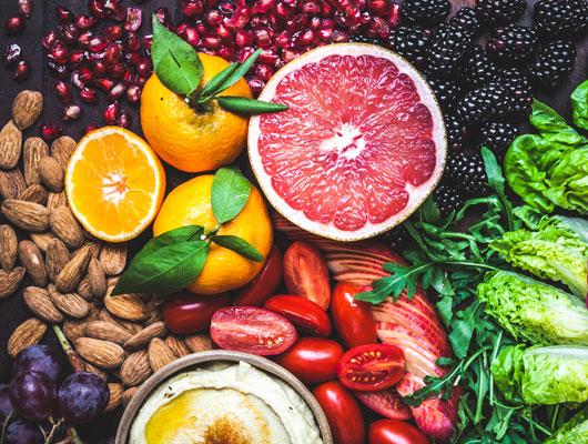 Ganz wichtig ist die gesunde Ernährung