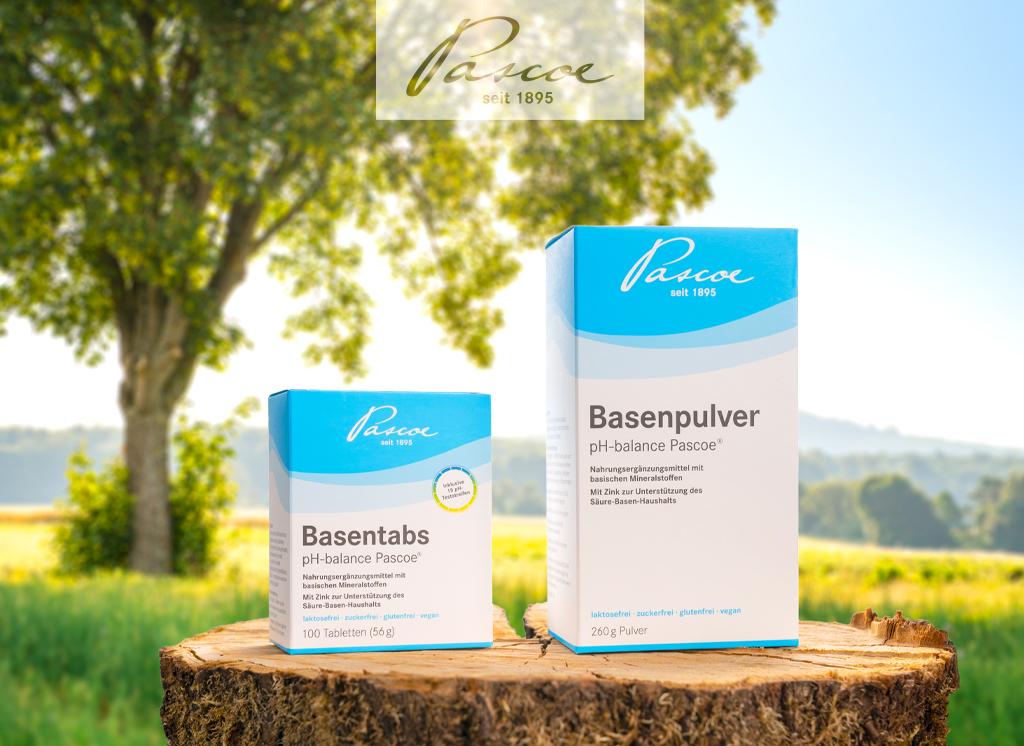 Jetzt die Basenprodukte von Pascoe entdecken: Basisch durch den Sommer