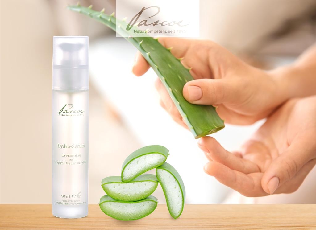 Hydro-Serum: belebendes, frisches Hautgefühl dank dem Feuchtigkeitsspender Aloe Vera