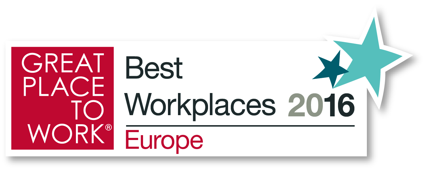 Pascoe - Great Place to Work Europe 2016