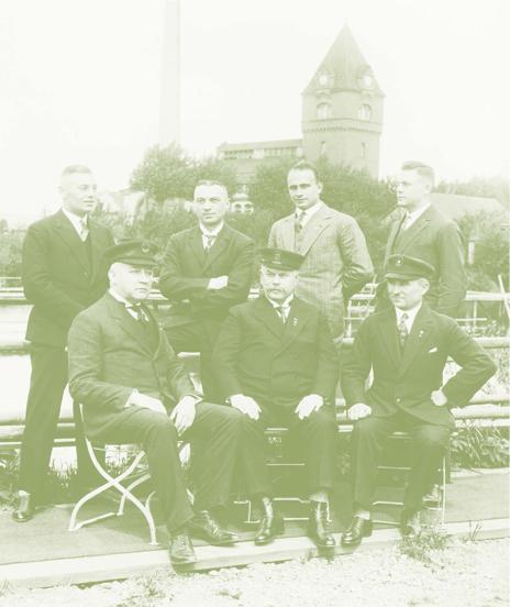 Der Vorstand des Gießener Schwimmvereins 1925/26